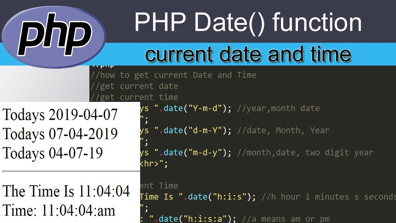 PHP中日期时间的相关加减计算方法